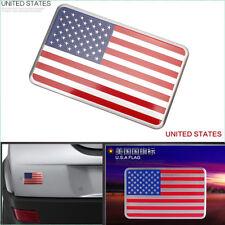 1X Decal Metal Emblem Badge Car Auto Fender Side Skirt Sticker USA American Flag