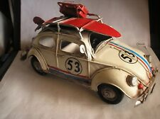 VOLKSWAGEN VW  CAR  53  Beetle The Love Bug - Herbie  .. Not aToy .. Ornament