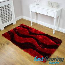 Splendour Deluxe Virtue Red Rug *0.80 x 1.50*  Lounge Bedroom Rug SALE *RRP £75*