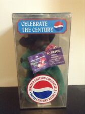 Pepsi Celebrate The Century Collectible Bear From 2000, #1132 Out of 25,000