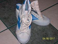 NCAA BRAND SIZE 8M ROYAL BLUE AND WHITE BASKETBALL SHOE NWOB