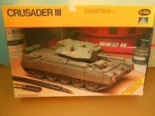 Plastic Model Kit Tank Crusader Iii New 1/35 Scale
