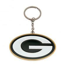 NFL Official Green Bay Packers Metal Crest Keyring