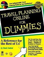 Travel Planning Online for Dummies by Noah Vadnai (1998, Paperback)