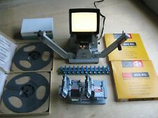 Super 8MM Minette Viewer, Bolex Bevel Splicer, Film Scene Sorter Block, Kodak