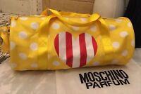 Moschino Sporttasche Duffel gym bag Weekend Weekender Tasche Reisetasche neu ovp