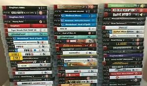 + 60 PS3 Games Multi Listing Boxed Games Big Discounts Playstation 3 Lot Bundle