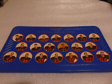1964 NALLEY'S CFL TEAM SET 20/20  B. C. LIONS VIKINGS WITH TRAY
