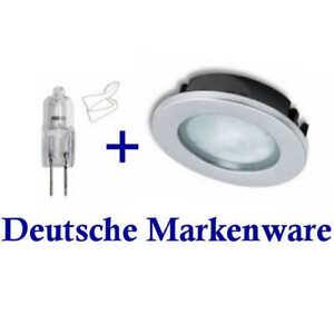Möbel Einbaustrahler Schrank Einbauleuchte 12V G4 Spot Küchen Unterschrank Lampe