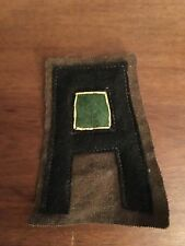 WWI -30's US Army First Army Military Police MP patch wool