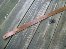 Swedish 1896 1938 Original Military Leather Rifle Sling