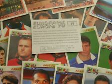 Panini Euro 96 Stickers (BLACK BACKS) - Complete Your Collection