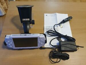 Official Sony PSP Car Charger Adaptor and Car Mount Cradle Bundle - never used