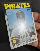 1986 Topps Traded Barry Bonds #11T Rookie Card