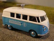 1/87 Wiking VW T1 b Bus Saarländischer Rundfunk SR Sondermodell