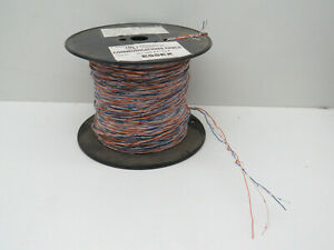 (500ft) 24/2 CCW Soft Multicolor CCW Cross Connect Comm. Cable Wire 24AWG 2-Pair
