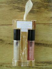 NIB Laura Geller Color Luster Lip Gloss Hi-Def Top Coat Duo- THE PEARLS SHINE