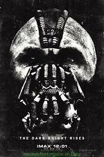 DARK KNIGHT RISES MOVIE POSTER Mint 13x20 Ultra Rare IMAX Promo BATMAN 2012 Film