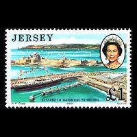 Jersey 1989 - Royal Visit Royalty Ship - Sc 515 MNH