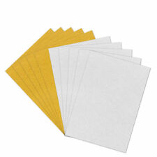 10pcs A4 Glitter Craft Cardstock 6 Colors Options Scrapbooking Card Making Sheet Golden Silver