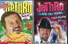 Jethro - A Giant Portion Of / I Told It My Way DVD Stand Up Live Comedy
