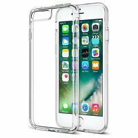 Fits Apple iPhone 7 Plus Case Silicone Clear Shockproof Rubber Protective TPU
