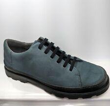 CAMPER Brutus K200551-003 Blue Suede Lace Up Shoes Women's EU 41