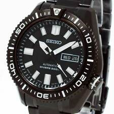 New SEIKO SUPERIOR PRO SCUBA DIVER'S 200m AUTOMATIC ION BLACK SKZ329J1