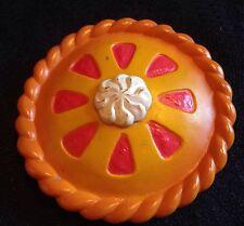 VTG 1987 M.I.I. Pretend PLAY Food Cherry 🍒 PIE TART Kitchen Baking