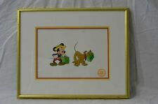 DISNEY SERICEL ART MICKEY MOUSE - MR MOUSE TAKES A TRIP -  FRAMED!