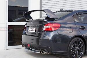 S-T Style Rear Trunk Wing Spoiler For 2014-2020 Subaru WRX/STI V1 (DM GREY 61K)