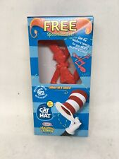 New Kraft Macaroni & Cheese Dr Seuss Cat in the Hat SpoonNoodler Red Spoon