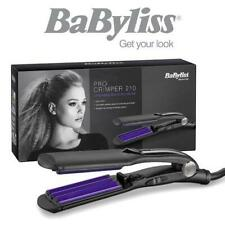 Babyliss 2165BU Womens Hair Pro Crimper 210 With Tourmaline Ceramic Plates