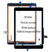For iPad 6 6th Gen 2018 Touch Screen Glass Digitizer Replacement w/ Home Button