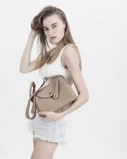Luxury Women Genuine Leather Lindy Tote Satchel Shoulder Bag Purse Doctors Bag