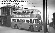 Photograph BUS PICTURE Bradford 710 Trolleybus