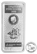 250 Gramm Silber Barren Münze Cook Islands 2020 Silberbarren 250 g NEU und OVP