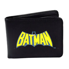 Batman Retro Con Logotipo Bi-fold Wallet