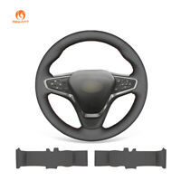 Black Artificial Leather Steering Wheel Cover for Chevrolet Malibu XL Equinox