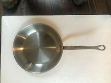 """Large 11.75"""" Mauviel Williams Sonoma Copper Fry Sauté Pan Stainless Steel Lined"""