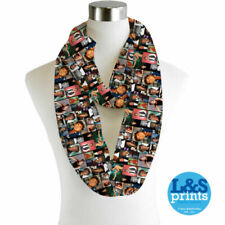 Sciarpe, foulard e scialli da donna multicolore in chiffon