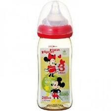 Pigeon Baby Bottle Like Breast Feeding Plastic from 0age 240ml Mickey & Minnie