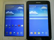 2- Samsung Galaxy Tab 3 Lite SM-T110 8 GB Tablets Only