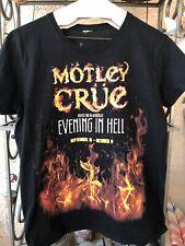 Motley Crue @ The Joint Hard Rock� Las Vegas Concert Staff Shirt Size Medium!
