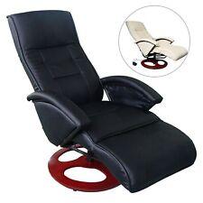 Massagesessel Elektrisch Fernsehsessel Relaxsessel mehrere Auswahl Creme/Schwarz