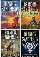 Brandon Sanderson Stormlight Archive 4 HARDCOVER BOOK SET BRAND NEW