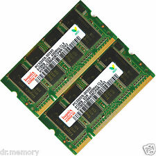1 GB (2 X 512 MB) DDR-400 PC3200 Notebook (SODIMM) Memory RAM KIT OS a 200 pin