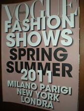 Vogue Fashion Shows.SPRING SUMMER 2011,iii