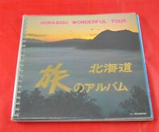 Vintage Hokkaido Wonderful Tour Japan Travel Tourist Map Book Sightseeing X5G14