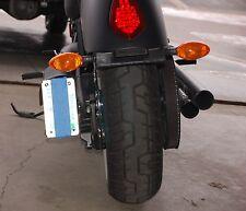 Victory Motorcycle Axle Mount Vertical Shock License Plate Holder Bracket 7817